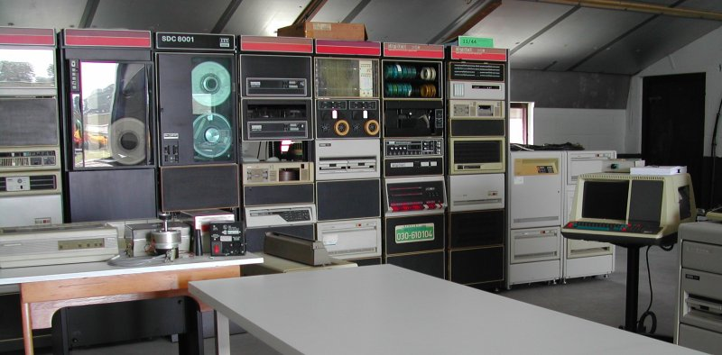 some machines in my PDP-11 collection